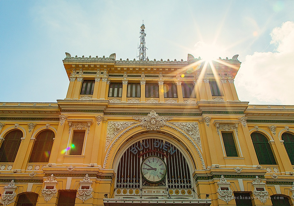 ho chi minh - central post office
