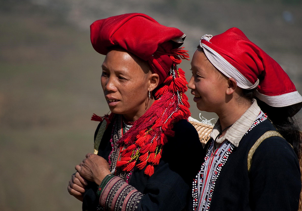 The Red Dao people