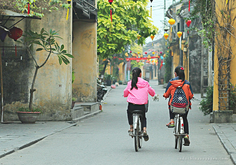 Follow by the ancient citadel is an ancient town – Hoi An.