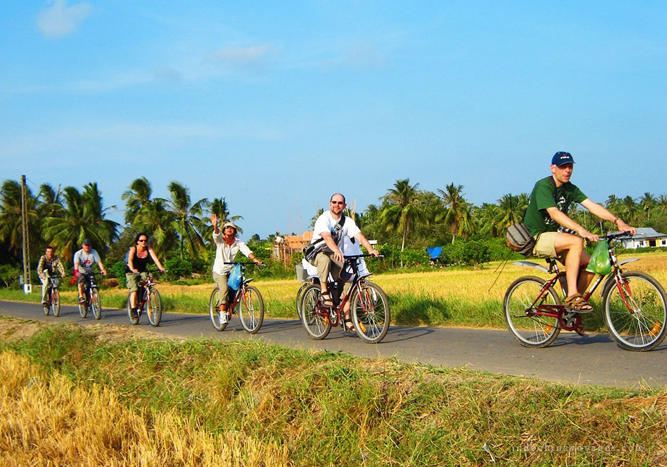 mekong delta biking