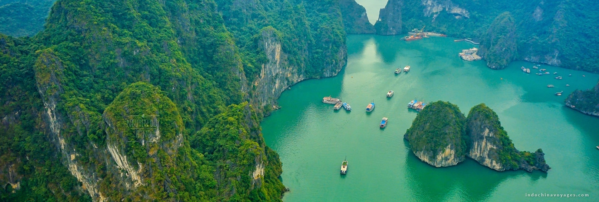 Halong Bay is staggering. And it's not a compliment