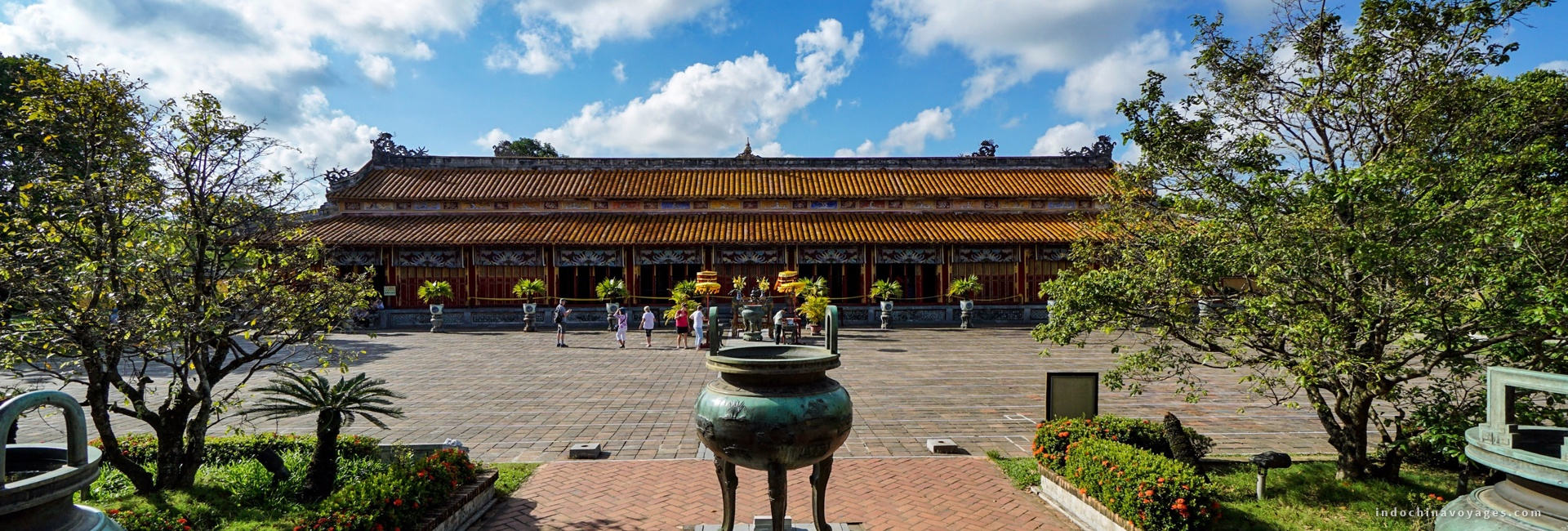 Hue is brimming with royal palaces, temples, and mausoleums