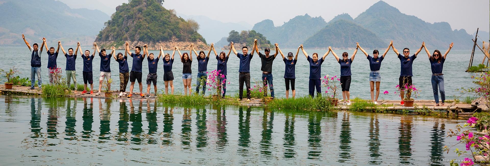 Indochina Voyages team