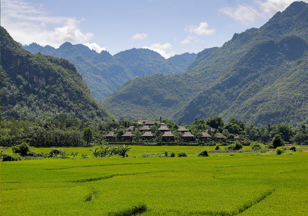 Beautiful view in Mai Chau