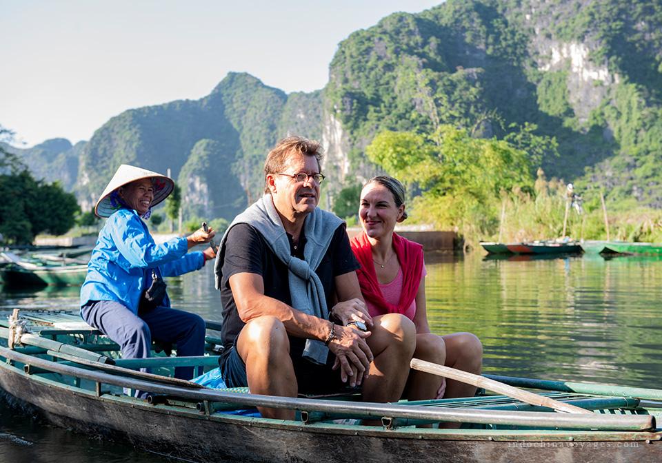 Trang an boat trip